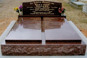 Double Brown Polished Monument