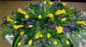 Yellow Flower Arrangement Dubbo